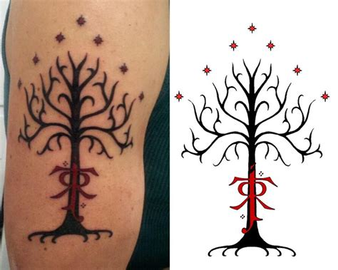 tree of gondor tattoo 30 best ideas images on ideas a