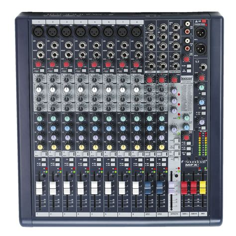 Mixer Soundcraft Efx8 8channel soundcraft mfxi8 8 channel mixer with fx at gear4music