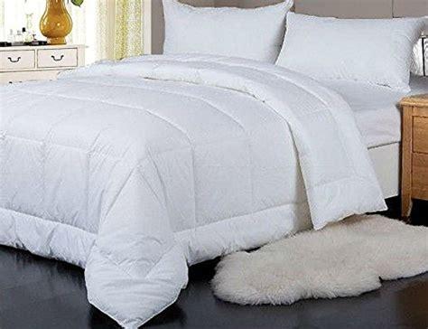 comforter fill weight median heavy weight goose down alternative comforter