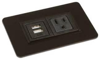 small desk grommet small rectangular power grommet in gloss black desks and