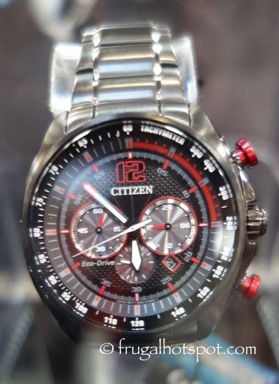 costco citizen eco drive mens s s chronograph 184