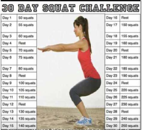fabulous 30 day squat challenge fb