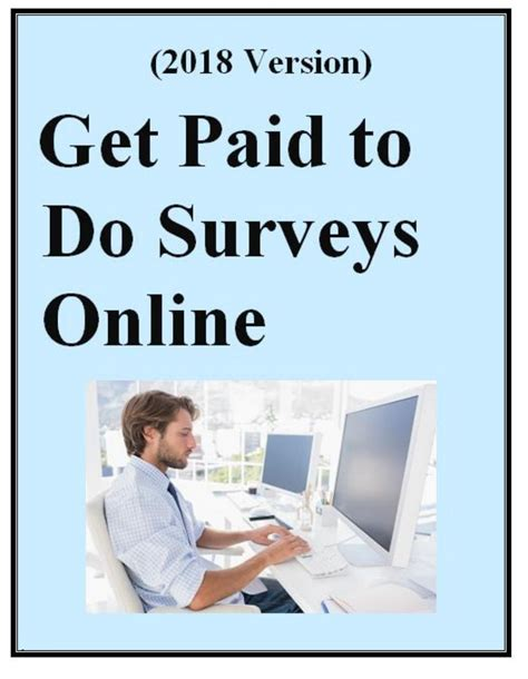 Get Paid To Do Surveys - get paid to do surveys online 2018 update