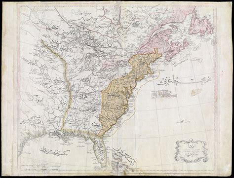 america map zoomable an ottoman map of america sarvodaya