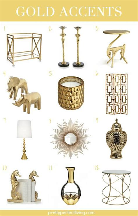 home decor and accents home decor gold accents aisle perfect