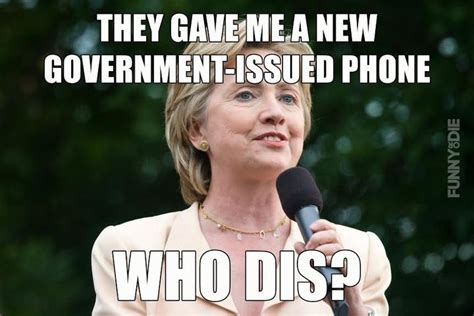 Hillary Clinton Cell Phone Meme - 30 most funny hillary clinton pictures and photos of all