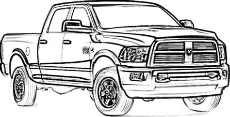 dodge longhorn truck coloring page teacher stuff