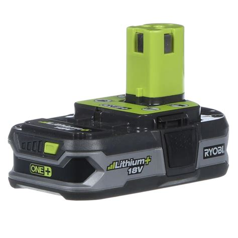ryobi 18 volt one lithium ion compact lithium battery
