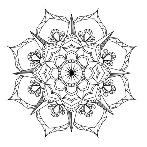 mandala coloring pages therapy flower mandala coloring page coloring therapy
