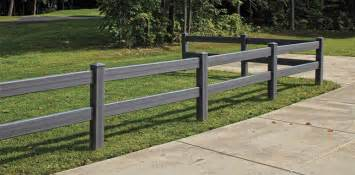 Decorative Fences Bufftech Certagrain Post And Rail