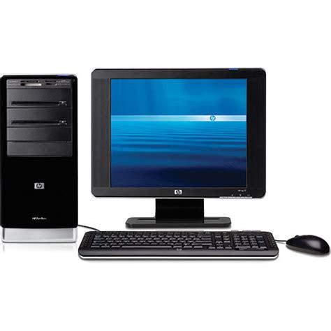 Hp Desk Top by Hp Pavilion A6300f Desktop Computer Gx613aa Aba B H Photo