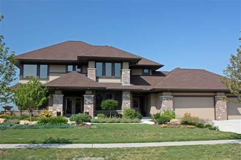 prairie house designs prairie style house plans craftsman home floor plan collections