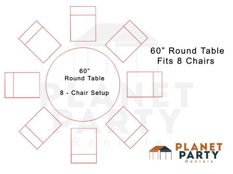 60 round table seating tables and chairs