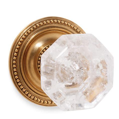Antique Gold Door Knobs by Rock Octagon No 23 Door Knob In Antique Gold
