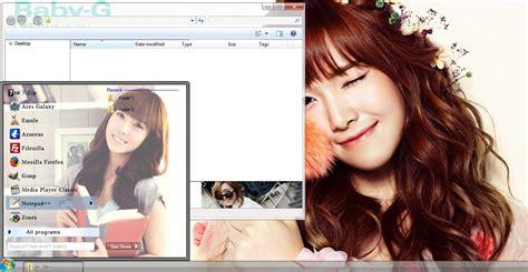 theme line jessica snsd my kpop fanatik jessica jung snsd window 7 theme download