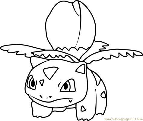 pokemon coloring pages ivysaur ivysaur pokemon go coloring page free pok 233 mon go