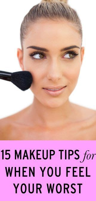 blacklist terrible hair and makeup 15 easy makeup tips for when you feel your worst easy