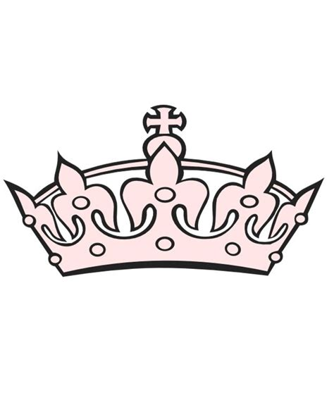 printable crown clipart 45 free paper crown templates template lab