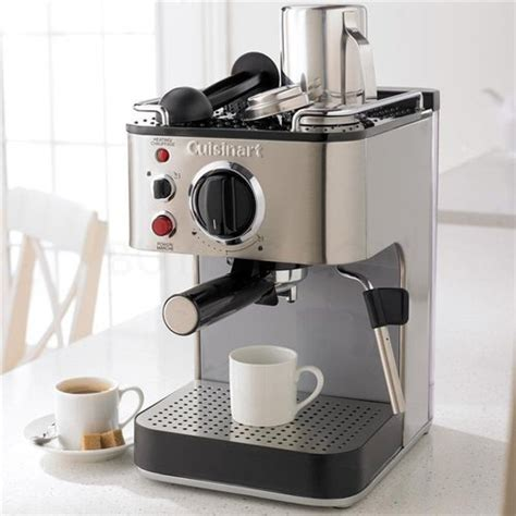 Sigmatic Coffee Maker 100 Ss cuisinart em 100 1000 wtt 15 bar espresso maker stainless steel factory refurb 86279014337 ebay