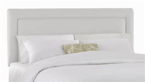 Headboard Padding Foam upholstered headboard w foam padding in twill white express home decor