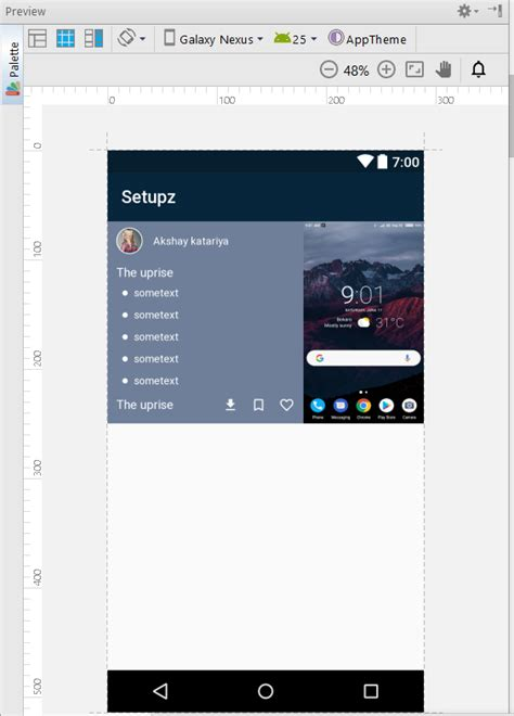 android set image for imageview on another layout android imageview is inflated but not displaying image