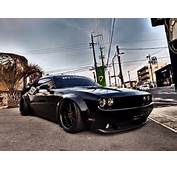 Liberty Walk Dodge Challenger Is Awesome