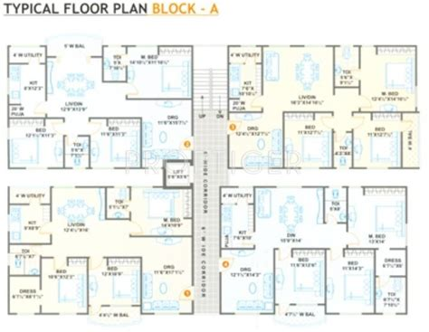 1581 sq ft 3 bhk 2t apartment for sale in jubilee homes