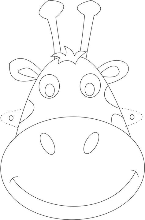 printable zoo animal masks best photos of zoo animal masks to coloring printable