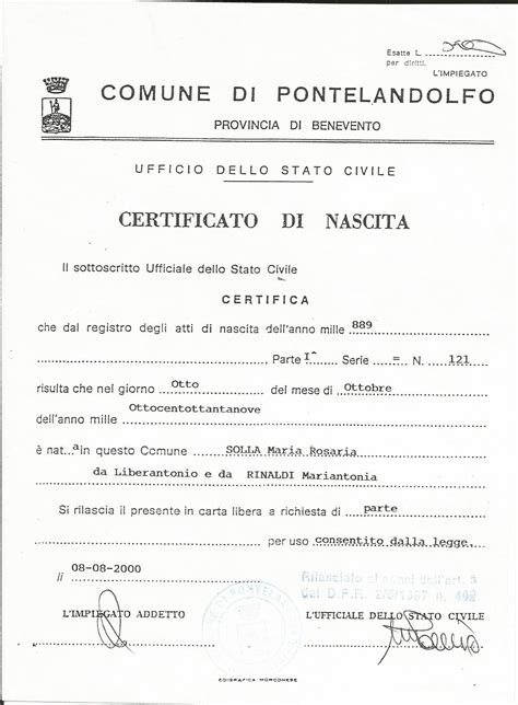 Italian Birth Records Finding Your Italian Family Nonna S Mulberry Tree