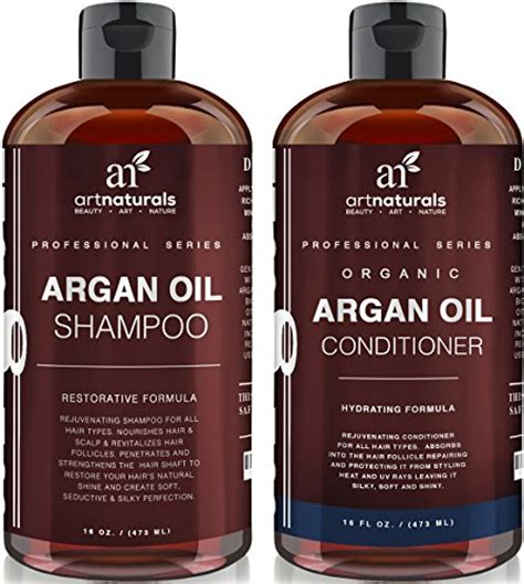 organic shoo and conditioner for color treated hair art naturals organic argan oil hair loss shoo for hair