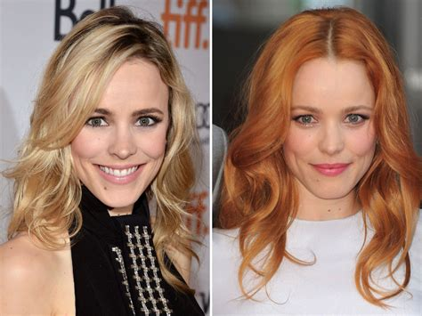 brunets gone blonde celebrity hair colours what colour do you think is best