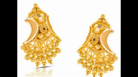 light weight gold earrings designs with price new gold earrings designs 2017