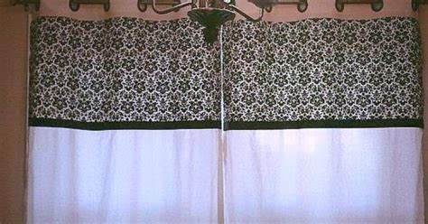 how to make kitchen curtains and valances diy no sew kitchen curtains hometalk