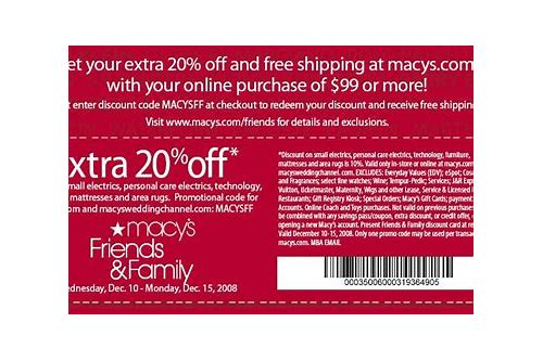 macy's free shipping coupon code july 2018