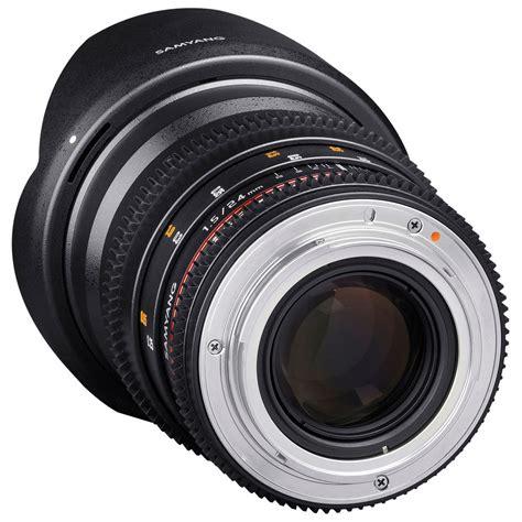 Samyang 24mm T1 5 Vdslr samyang 24mm t1 5 vdslr ii ed as if umc objectif monture