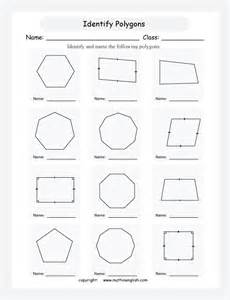 identify regular polygons and quadrilaterals such as