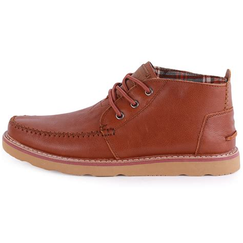 Chukka Leather Shoes By Skitso Co toms chukka boots mens leather brown chukka boots new