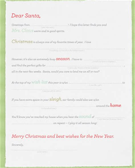 printable santa letters for adults secret santa wishlist worksheets new calendar template site