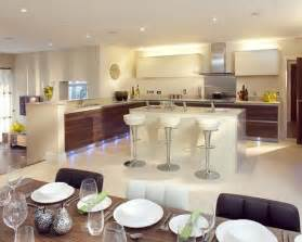 black dining room modern open plan lighting design ideas photos inspiration rightmove home
