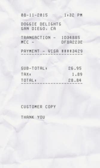 Bar Receipt Template by Simple Receipt Expressexpense Custom Receipt Maker