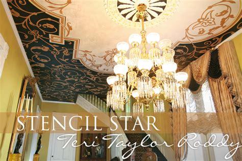 taylor pattern works stencil star the terrific teri taylor roddy paint pattern