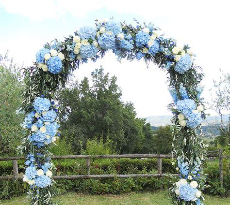 arco di fiori per matrimonio fiori per un matrimonio rustico chic la gardenia