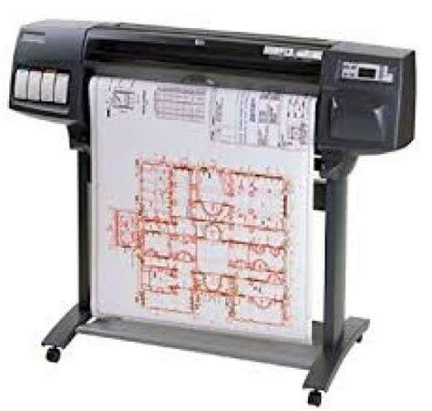 Toner Blueprint hp 1050c 36 quot wide format printer plotter c6074a blueprints