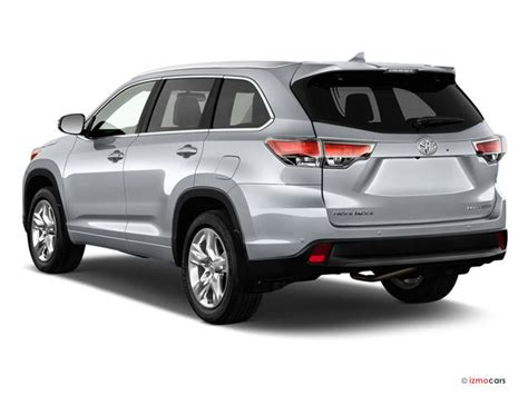 2015 Toyota Highlander Dimensions 2015 Toyota Highlander Prices Reviews And Pictures U S