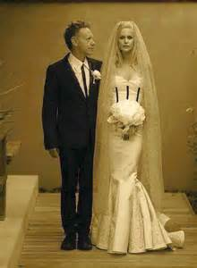 martin gore and kerrilee kaski s wedding ceremony in ina
