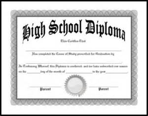 Free Printable High School Diploma Templates by Free Homeschool Diplomas Template