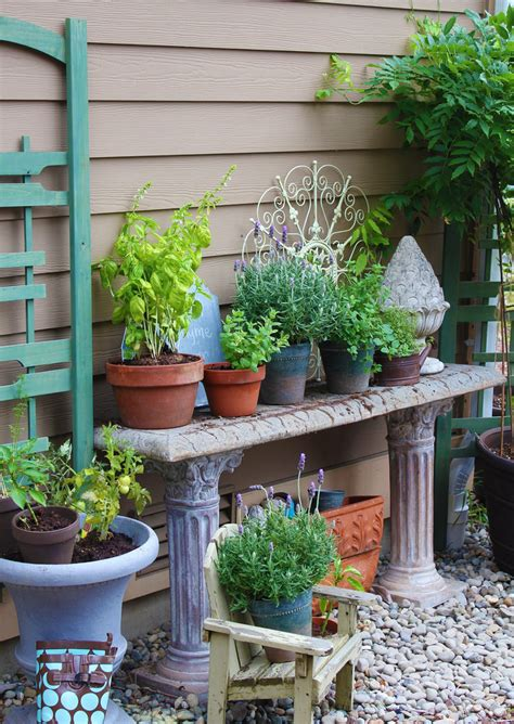 vegetable garden table potting bench garden