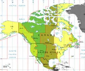 map of us time zones with cities