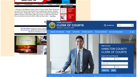 Hamilton County Clerk Of Courts Search Reved Hamilton County Clerk Of Courts Website Launches With New Services