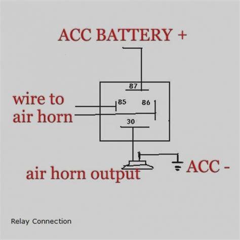 kleinn air horn wiring diagram collection wiring diagram